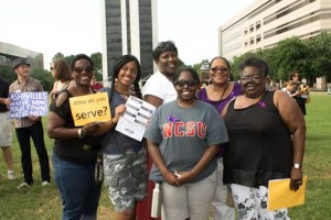 Women AdvaNCe at Moral Monday (1)
