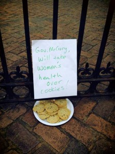 Cookie gate