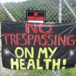 No trespassing on health