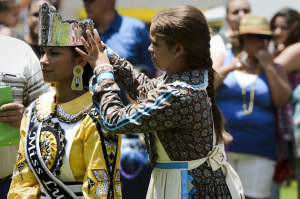 Lumbee Homecoming events in Pembroke, North Carolina on July 6, 2013.