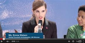 Emma Watson Launches Campaign to End Gender Inequality